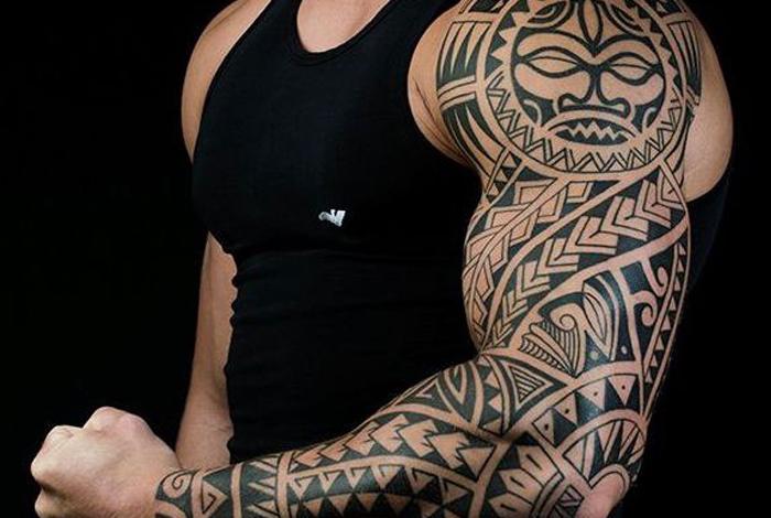 Tattoo Jos Oss Gallery Polynesisch Maori tribal sleeve