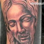 Tattoo Jos Oss Black and grey 27 jesus