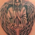 Tattoo Jos Oss Black and grey 30 engel mama