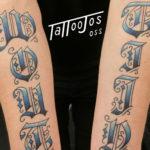 Lettering Tattoo Jos Oss 11