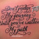 Lettering Tattoo Jos Oss 15