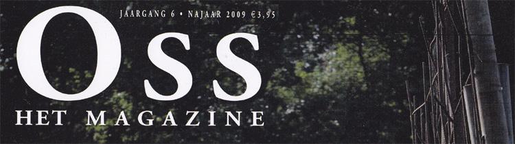 Oss het magazine kop najaar 2006 Tattoo Jos