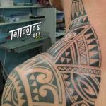 Tattoo Jos Oss Polynesisch Maori tribal 3
