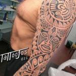 Tattoo Jos Oss Polynesisch Maori tribal 58
