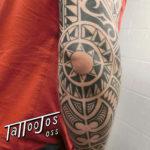 Tattoo Jos Oss Polynesisch Maori tribal 65
