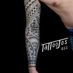 Tattoo Jos Oss Polynesisch Maori tribal 67