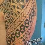 Tattoo Jos Oss Polynesisch Maori tribal 74