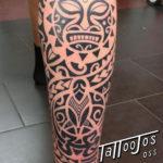 Tattoo Jos Oss Polynesisch Maori tribal 75