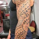 Tattoo Jos Oss Polynesisch Maori tribal 81