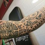 Tattoo Jos Oss Polynesisch Maori tribal 91