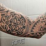 Tattoo Jos Oss Polynesisch Maori tribal 92